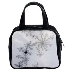 Mandelbrot Apple Males Mathematics Classic Handbags (2 Sides)