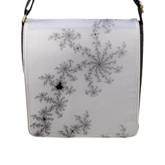 Mandelbrot Apple Males Mathematics Flap Messenger Bag (l)