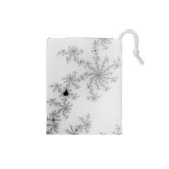 Mandelbrot Apple Males Mathematics Drawstring Pouches (small)  by Nexatart
