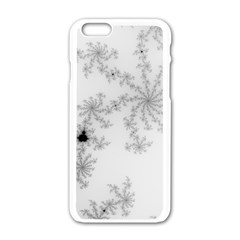 Mandelbrot Apple Males Mathematics Apple Iphone 6/6s White Enamel Case by Nexatart
