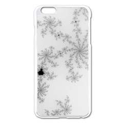Mandelbrot Apple Males Mathematics Apple Iphone 6 Plus/6s Plus Enamel White Case