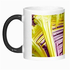 Yellow Magenta Abstract Fractal Morph Mugs