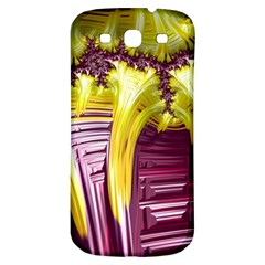 Yellow Magenta Abstract Fractal Samsung Galaxy S3 S Iii Classic Hardshell Back Case