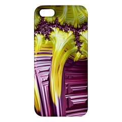 Yellow Magenta Abstract Fractal Iphone 5s/ Se Premium Hardshell Case by Nexatart