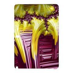 Yellow Magenta Abstract Fractal Samsung Galaxy Tab Pro 10 1 Hardshell Case
