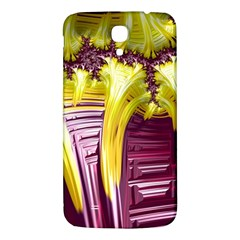 Yellow Magenta Abstract Fractal Samsung Galaxy Mega I9200 Hardshell Back Case