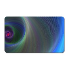 Gloom Background Abstract Dim Magnet (rectangular)