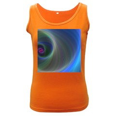 Gloom Background Abstract Dim Women s Dark Tank Top
