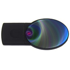 Gloom Background Abstract Dim Usb Flash Drive Oval (4 Gb)