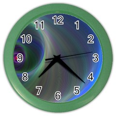 Gloom Background Abstract Dim Color Wall Clocks