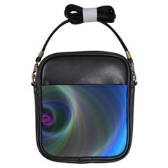 Gloom Background Abstract Dim Girls Sling Bags by Nexatart