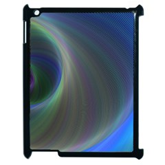 Gloom Background Abstract Dim Apple Ipad 2 Case (black) by Nexatart