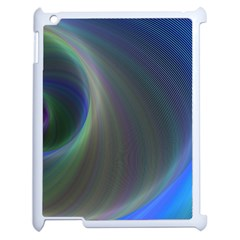 Gloom Background Abstract Dim Apple Ipad 2 Case (white)