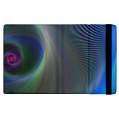 Gloom Background Abstract Dim Apple Ipad 2 Flip Case by Nexatart