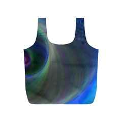 Gloom Background Abstract Dim Full Print Recycle Bags (s)  by Nexatart