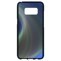 Gloom Background Abstract Dim Samsung Galaxy S8 Black Seamless Case