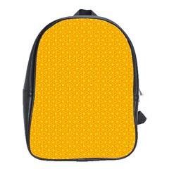 Texture Background Pattern School Bag (xl)