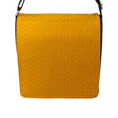 Texture Background Pattern Flap Messenger Bag (l)