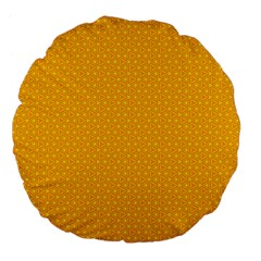 Texture Background Pattern Large 18  Premium Flano Round Cushions