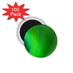 Green Background Abstract Color 1 75  Magnets (100 Pack)