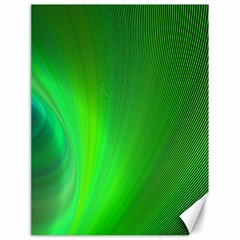 Green Background Abstract Color Canvas 18  X 24
