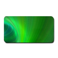 Green Background Abstract Color Medium Bar Mats