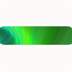 Green Background Abstract Color Large Bar Mats by Nexatart