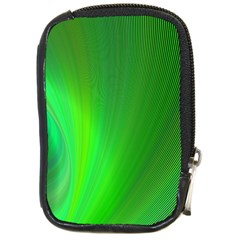 Green Background Abstract Color Compact Camera Cases
