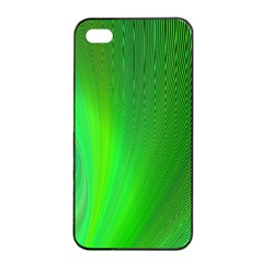 Green Background Abstract Color Apple Iphone 4/4s Seamless Case (black)