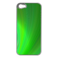 Green Background Abstract Color Apple Iphone 5 Case (silver)