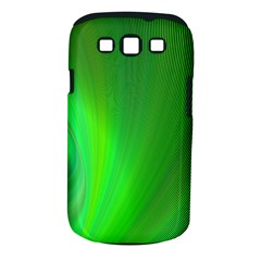 Green Background Abstract Color Samsung Galaxy S Iii Classic Hardshell Case (pc+silicone)