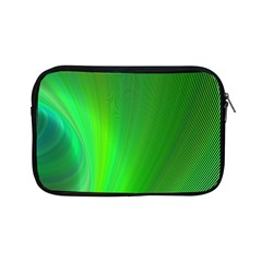 Green Background Abstract Color Apple Ipad Mini Zipper Cases