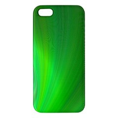 Green Background Abstract Color Iphone 5s/ Se Premium Hardshell Case by Nexatart