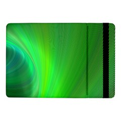 Green Background Abstract Color Samsung Galaxy Tab Pro 10 1  Flip Case by Nexatart