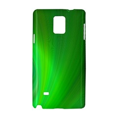 Green Background Abstract Color Samsung Galaxy Note 4 Hardshell Case by Nexatart