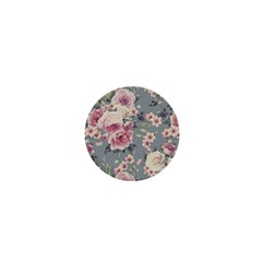 Pink Flower Seamless Design Floral 1  Mini Buttons