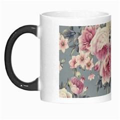Pink Flower Seamless Design Floral Morph Mugs