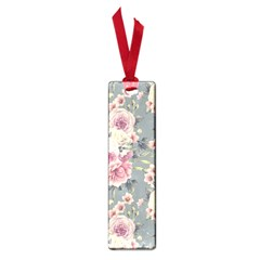 Pink Flower Seamless Design Floral Small Book Marks