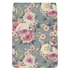Pink Flower Seamless Design Floral Flap Covers (s)  by Nexatart