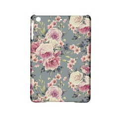 Pink Flower Seamless Design Floral Ipad Mini 2 Hardshell Cases by Nexatart