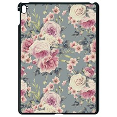 Pink Flower Seamless Design Floral Apple Ipad Pro 9 7   Black Seamless Case