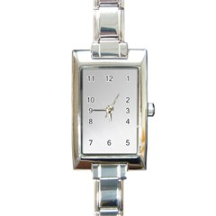 White Background Abstract Light Rectangle Italian Charm Watch