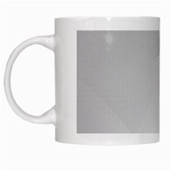 White Background Abstract Light White Mugs by Nexatart
