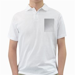White Background Abstract Light Golf Shirts
