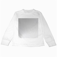 White Background Abstract Light Kids Long Sleeve T Shirts