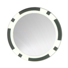 White Background Abstract Light Poker Chip Card Guard