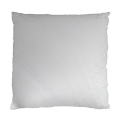 White Background Abstract Light Standard Cushion Case (two Sides)
