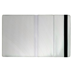 White Background Abstract Light Apple Ipad 3/4 Flip Case