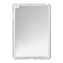 White Background Abstract Light Apple Ipad Mini Case (white)