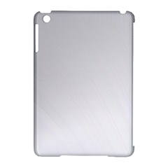 White Background Abstract Light Apple Ipad Mini Hardshell Case (compatible With Smart Cover)